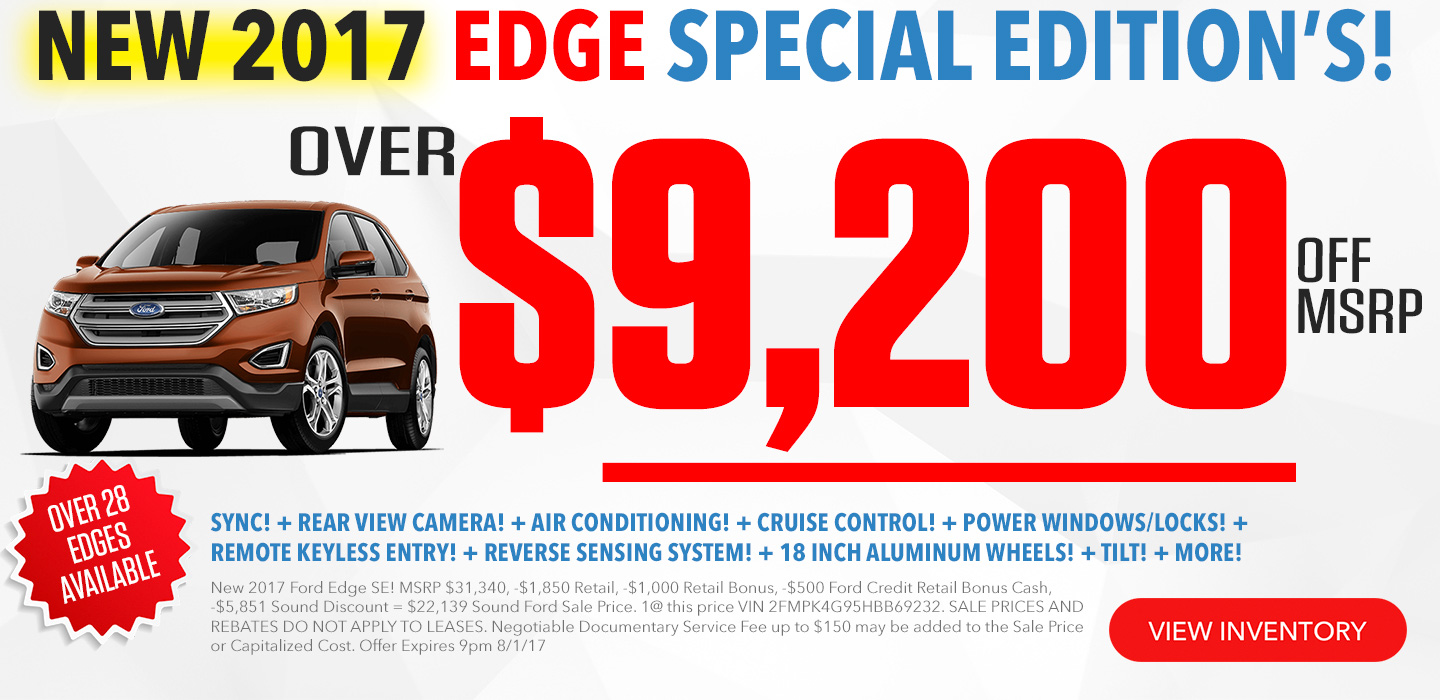 Ford Edge For Sale In Seattle Washington