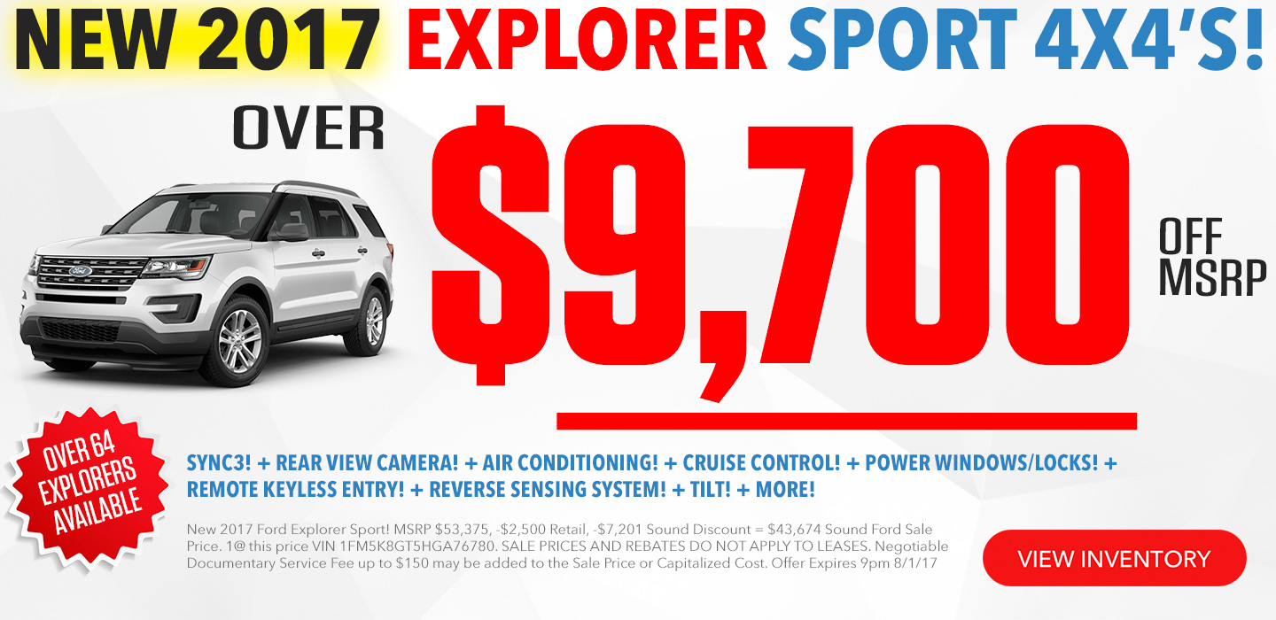Ford Explorer For Sale In Seattle Washington