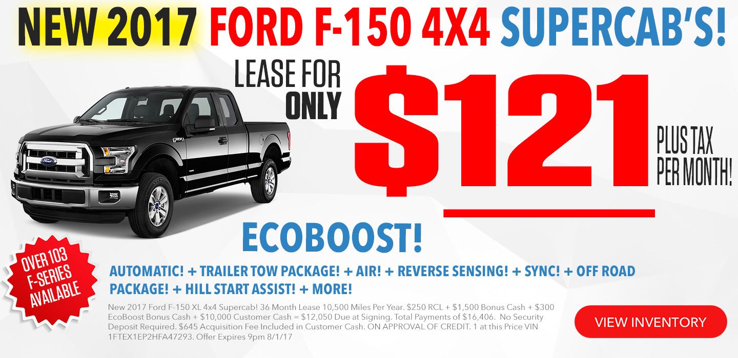 Ford F-150 For Lease in Seattle Washington