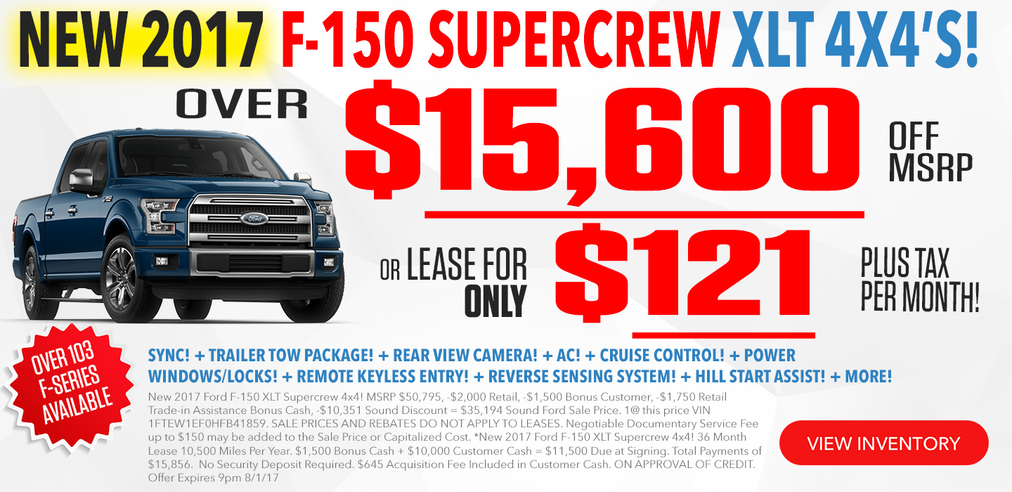 Ford F-150 Supercrew For Sale in Seattle Washington