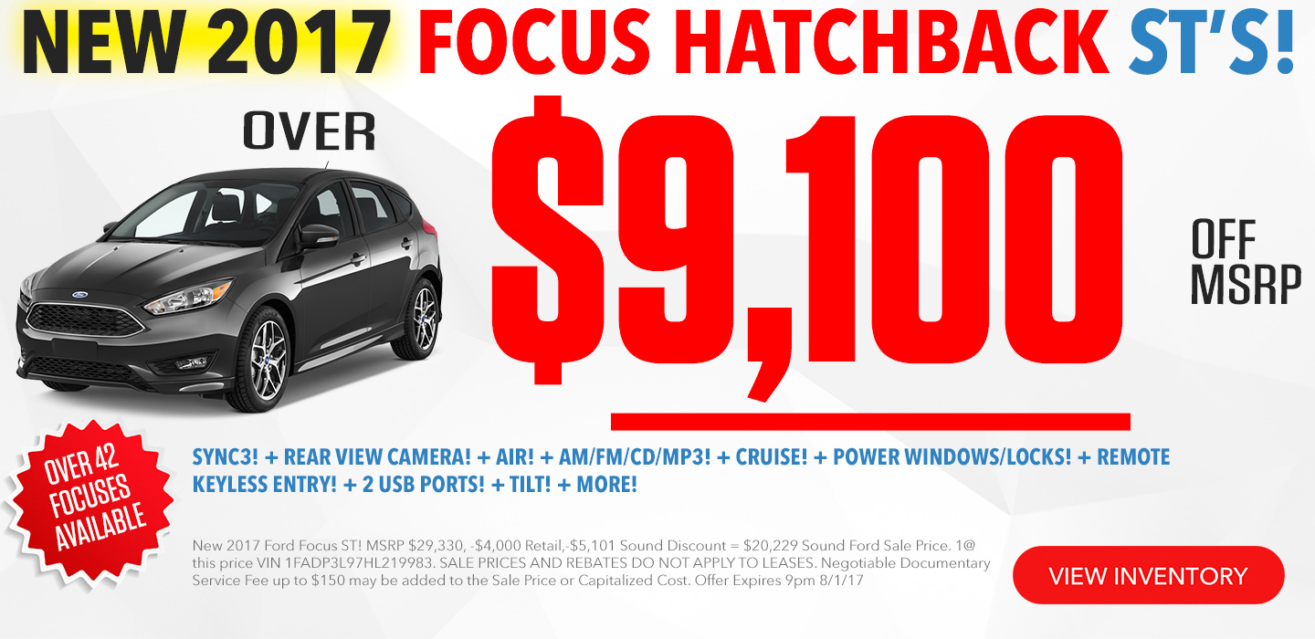 Ford Focus In Seattle Washington