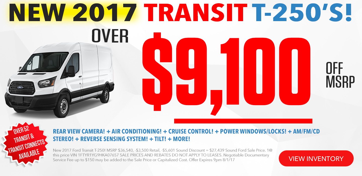 Ford Transit For Sale Seattle Washington