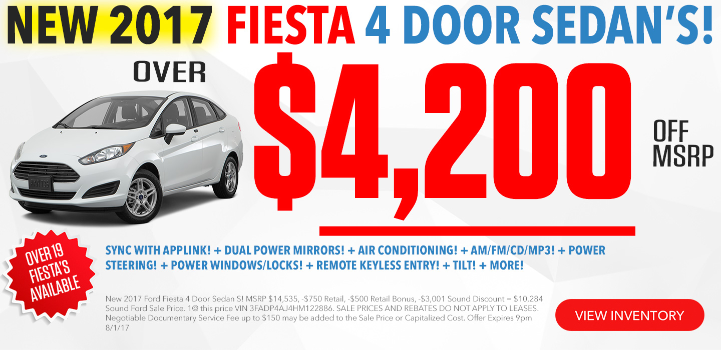 Ford Fiesta for Sale Seattle
