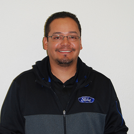 Claudio Angulo Assistant Service Manager
