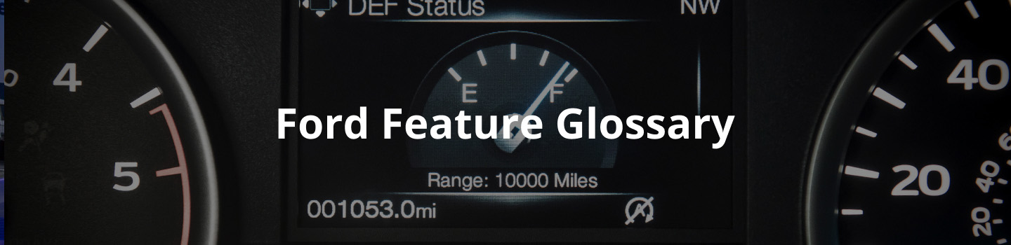 ford features glossary information seattle renton bellevue tacoma washington