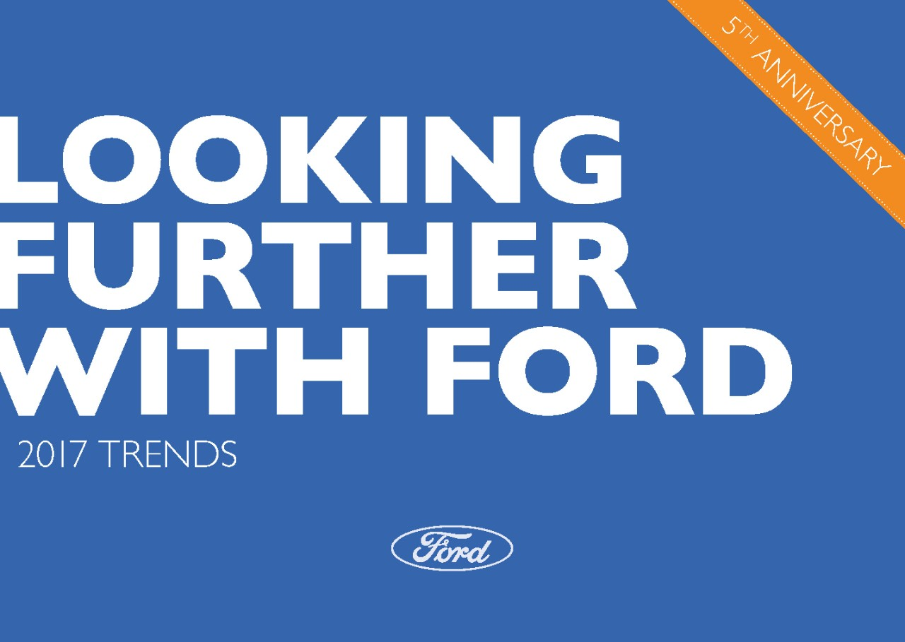 Ford Looks to the Future with New Report