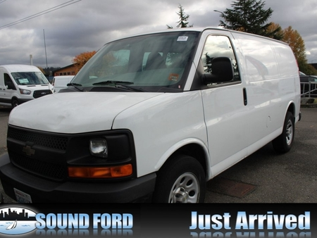2013 chevrolet express 1500 cargo van for sale in renton washington