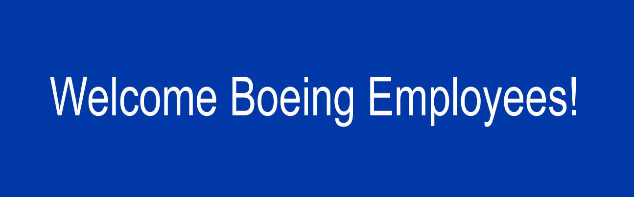Welcome Boeing employees