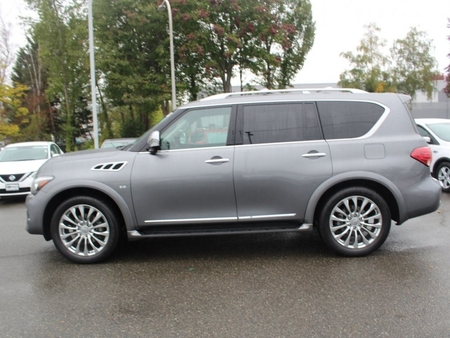 used 2015 INFINITI QX80 for sale in renton washington