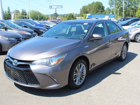 2015 toyota camry hybrid se for sale in renton washington