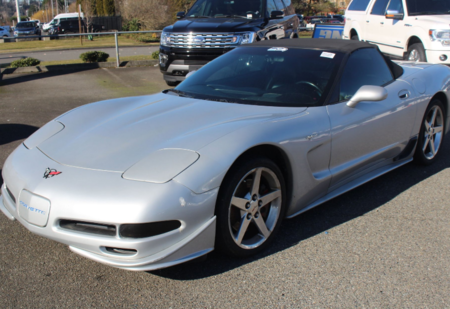 2000 chevrolet corvette convertible base for sale in renton wahsington