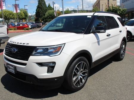 used 2018 ford explorer sport for sale in seattle washington