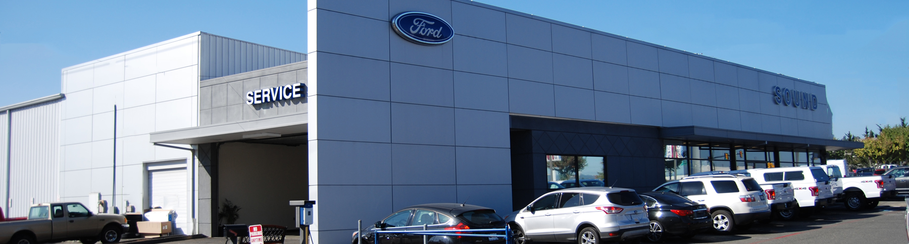 Sound Ford Service Dept