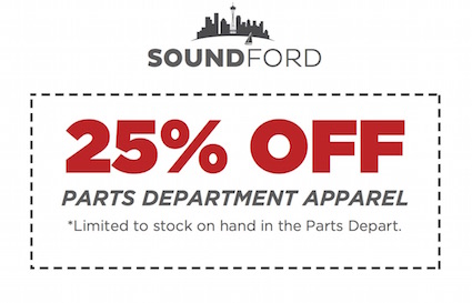 savings on ford apparel seattle washington area